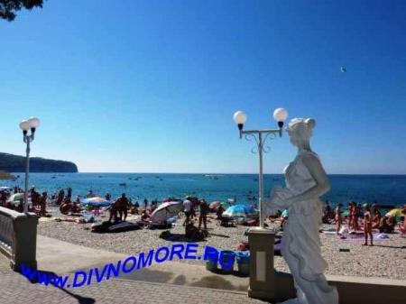 Дивноморск фото набережной и пляжа